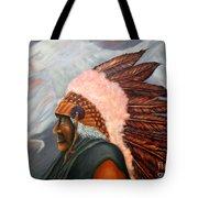 Chief Eagle Cloud Tote Bag