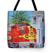 Chief In San Diego Tote Bag