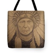 Chief Joseph  Tote Bag