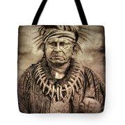Chief Keokuk  Tote Bag