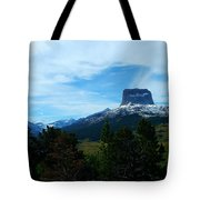 Chief Mountain, Emerging Tote Bag