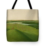 Chief Of The Plains Ojibwa Tote Bag