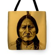 Chief Sitting Bull  Tatanka Iyotake Tote Bag