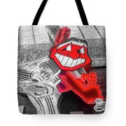 Chief Wahoo Sluggin Tote Bag