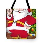Chiefs Santa Claus Tote Bag