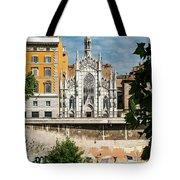 Chiesa Del Sacro Cuore Del Suffragio Tote Bag