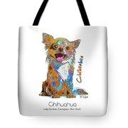 Chihuahua Pop Art Tote Bag