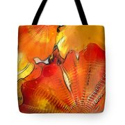 Chihuly Altered Tote Bag
