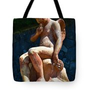 Child At Biltmore  Tote Bag