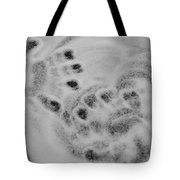 Child Hand Prints Tote Bag