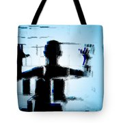 Child In A Fractured World Tote Bag