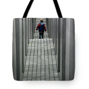Child In Berlin Tote Bag