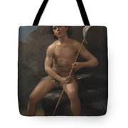 Child In The Desert Tote Bag