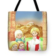 Child Shepherds Tote Bag
