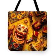 Childhood Toys Tote Bag by Garry Gay