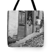 Children At Sankhuwasabha, Nepal Tote Bag