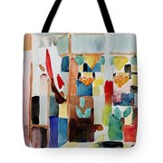 Children At The Greengrocers I Tote Bag