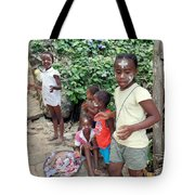 Children Of Madagascar Tote Bag