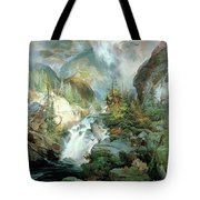 Children Of The Mountain Tote Bag