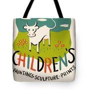 Children's Paintings-sculpture-prints Tote Bag