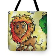 Childrens Whimsical Nursery Art Cutie Pie By Madart Tote Bag
