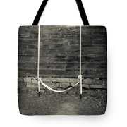 Child's Swing On An Old Farm Tote Bag