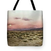 Chile Desert Tote Bag