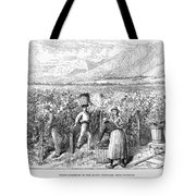 Chile: Wine Harvest, 1889 Tote Bag