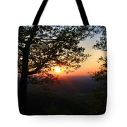 Chilhowee Sunset Tote Bag