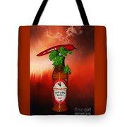 Chili Pepper, Coriander And Peri-peri By Kaye Menner Tote Bag