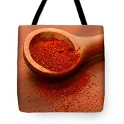 Chili Powder Tote Bag by Louise Heusinkveld