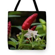 Chilli Flowers Tote Bag