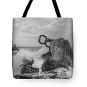 Chillidas Comb Of The Wind In San Sebastian Basque Country Spain  Tote Bag