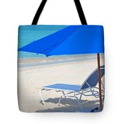 Chilling On The Beach Anguilla Caribbean Tote Bag