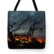 Chilling Sunset Tote Bag