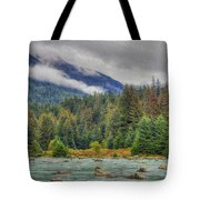 Chillkoot River Hdr Paint Tote Bag