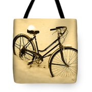 Chilly Ride Tote Bag