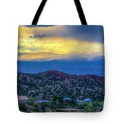 Chimayo Rains Tote Bag