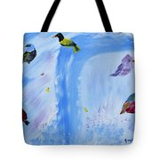 Chimes Of A Waterfall Dream Tote Bag