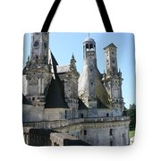 Chimney From Chambord - Loire Tote Bag