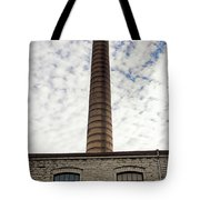 Chimney Of An Old Factory Tote Bag