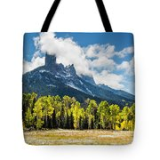 Chimney Rock Autumn Tote Bag