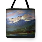 Chimney Rock Priest Lake Tote Bag