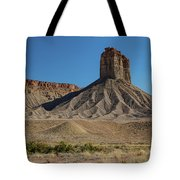 Chimney Rock Towaoc Colorado Tote Bag