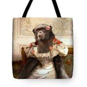 Chimp In Gown  Tote Bag