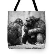 Chimpanzee Pair Tote Bag