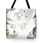 China Ancient Female Tote Bag