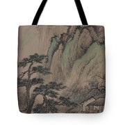China Ancient Landscape Tote Bag