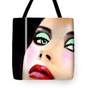 China Art Beautiful Lady Carmen Sander  Tote Bag