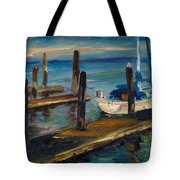 China Basin Docks Tote Bag